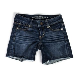 American Eagle Outfitters stretch jean shorts